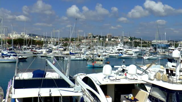 Yacht Harbor - Antibes, France video