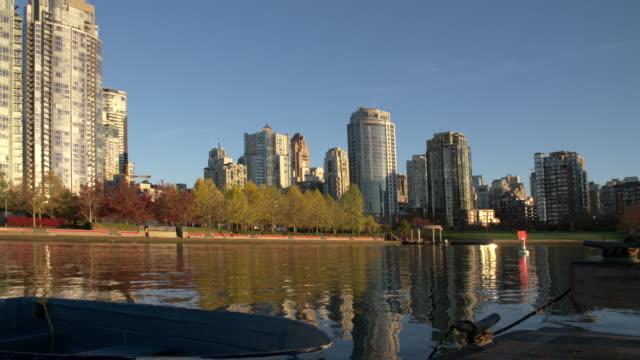 Yaletown Dock, Seawall Morning, Vancouver 4K video