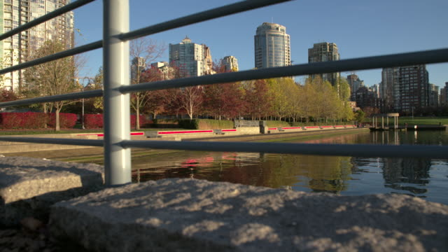 Yaletown Vancouver Seawall Morning video