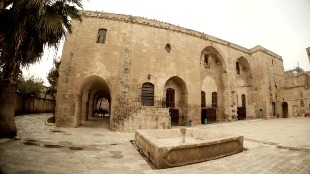 Yard of Old Catholic Church Transformed in Theatre Urfa video