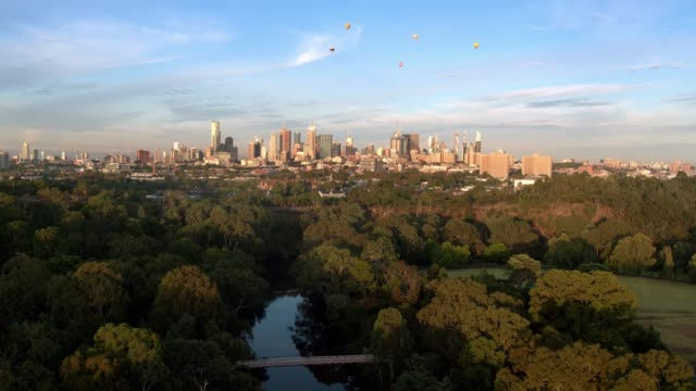 yarra river, melbourne city, victoria, australia - melbourne stock videos & royalty-free footage