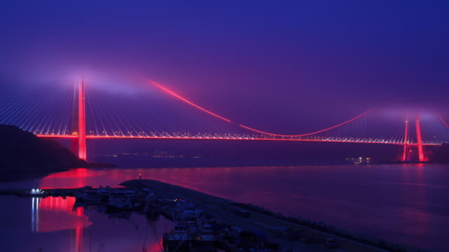 4K: Yavuz Sultan Selim Bridge **Time Lapse** video