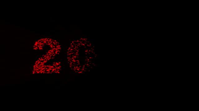 2017 jahr. - dekorative kunst stock-videos und b-roll-filmmaterial