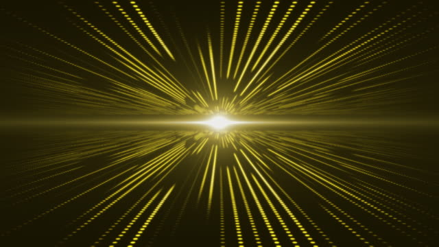 Yellow abstract technology digital background perspective with light