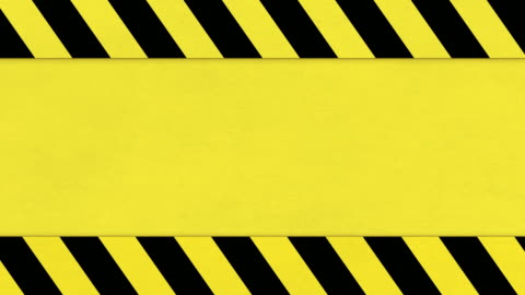 Yellow and black hazard tape background, distressed grunge texture animation Yellow and black hazard tape background, distressed grunge texture animation concentration stock videos & royalty-free footage