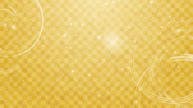 gelbes kontrollmuster (japanisch ichimatsu-moyou) hintergrund cg - karo stock-videos und b-roll-filmmaterial