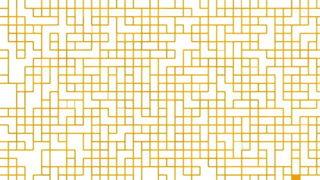 Yellow digital pattern video