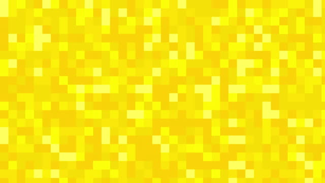 Yellow digital squares background video