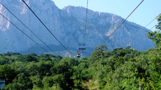 gula funicular rälsbuss tåg i de vackra bergen. 3840 x 2160, fullhd - grindelwald bildbanksvideor och videomaterial från bakom kulisserna
