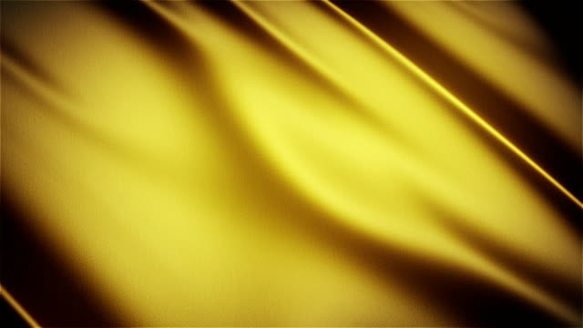 Yellow glossy cloth satin realistic seamless loop waving animation Yellow glossy cloth satin realistic seamless loop yellow stock videos & royalty-free footage