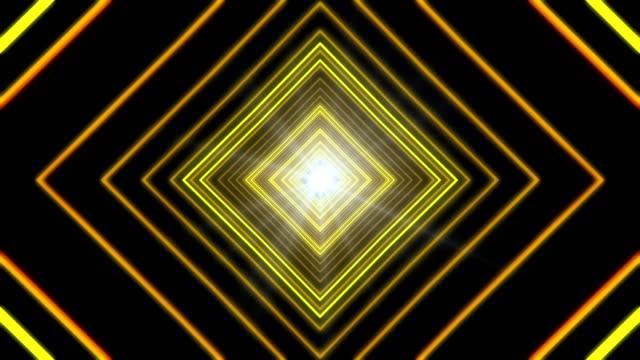 Yellow Infinity Background video