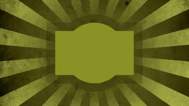 Yellow Label Vintage Loop Background 4K video