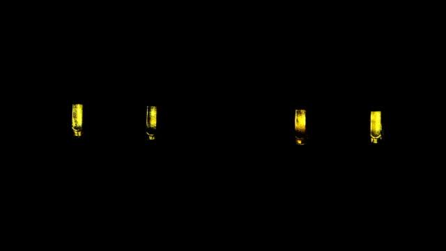 yellow led blinker video