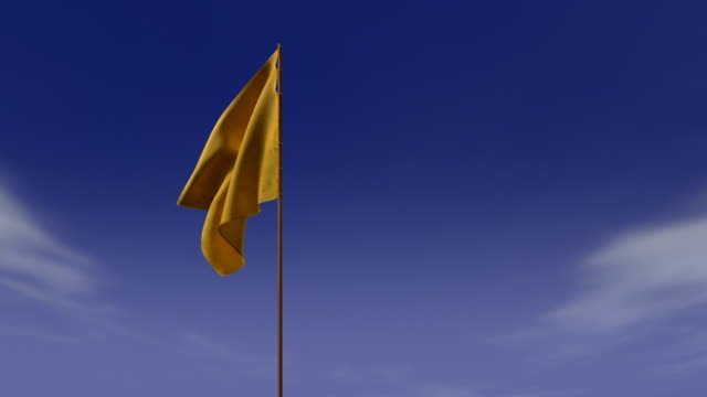 yellow signal flag video
