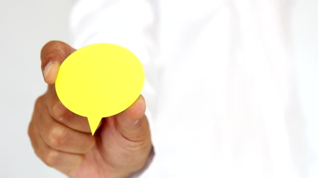 Yellow Speech Bubbles