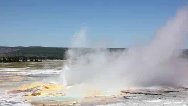 Yellowstone Geyser video