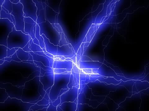 vídeos y material grabado en eventos de stock de ntsc: símbolo del yen en lightning - accesorio financiero