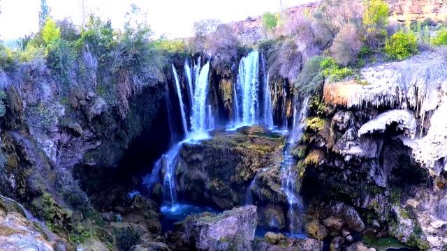 yerkopru waterfalls. video