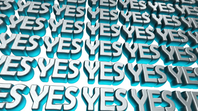 Yes 3d text floating on the screen. Animation for yours presentation.
