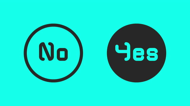 Yes or No - Vector Animate video