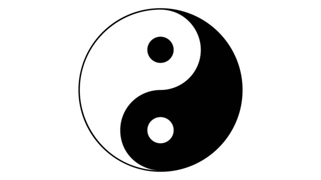 Yin Yang animation on transparent background with alpha channel. Yin Yang animation on transparent background with alpha channel. Loop. yin yang symbol stock videos & royalty-free footage