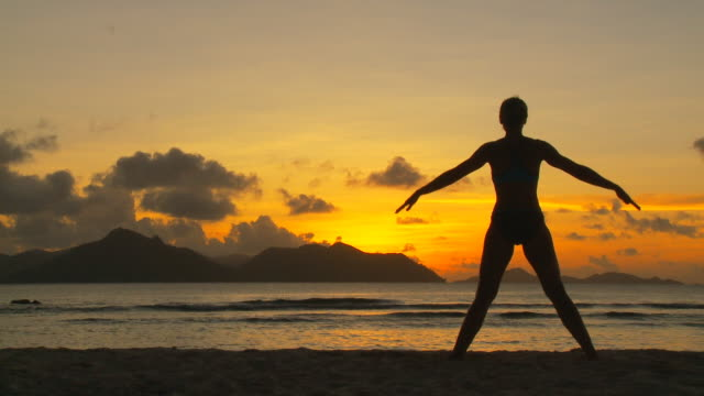 yoga at sunset part I video
