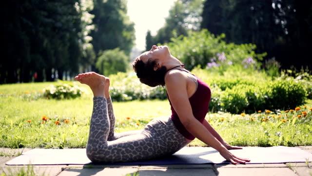 Yoga exercise video