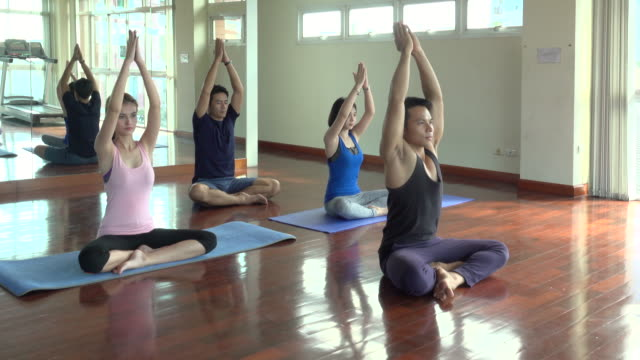 Yoga In Gym video