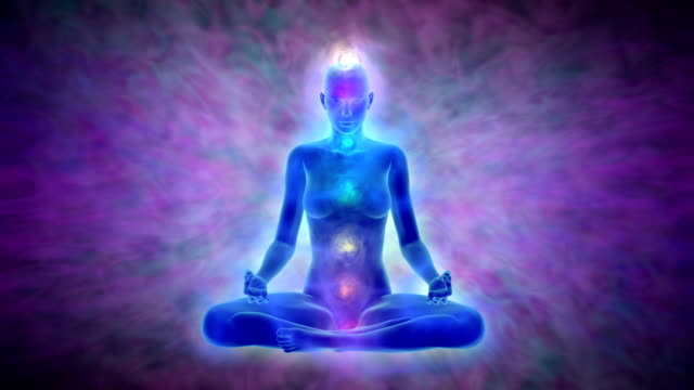 Yoga meditation - aura and chakras video