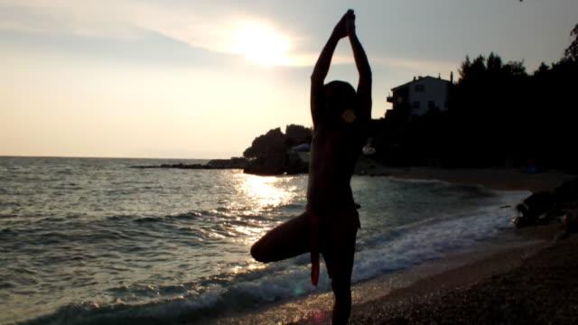 yoga position video