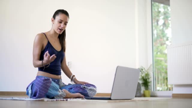 Yoga Vlogging video