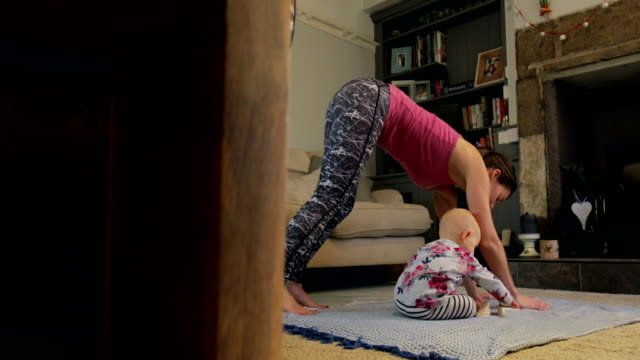 Yoga With Mum video