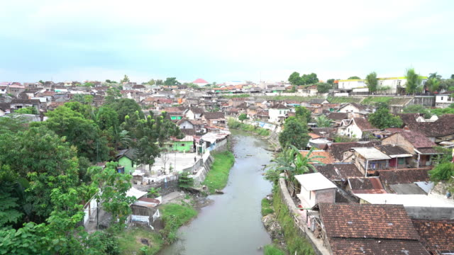 Yogyakarta City in Indonesia Yogyakarta.City in Java island. Indonesia water wastage stock videos & royalty-free footage