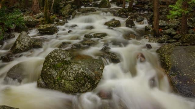 Yosemite National Park Nature, Landscape Hyperlapse - Motion Timelapse