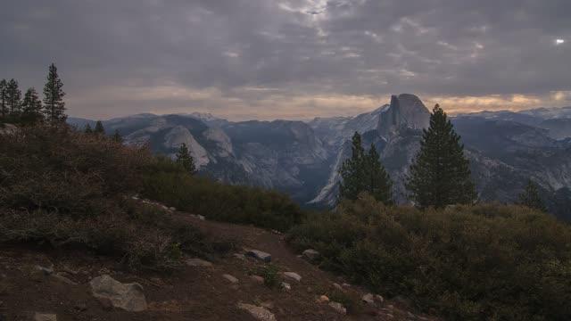 Yosemite National Park Nature, Landscape Sunrise Timelapse