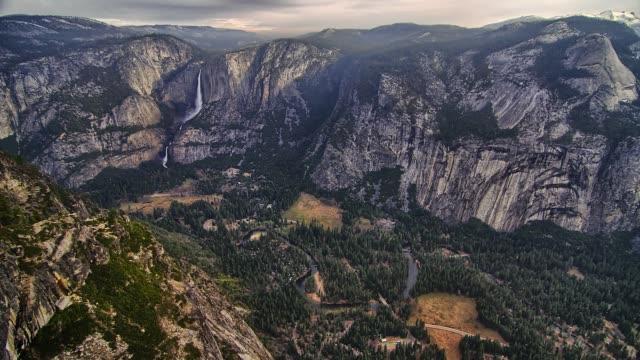 Yosemite National Park Nature, Landscape Timelapse