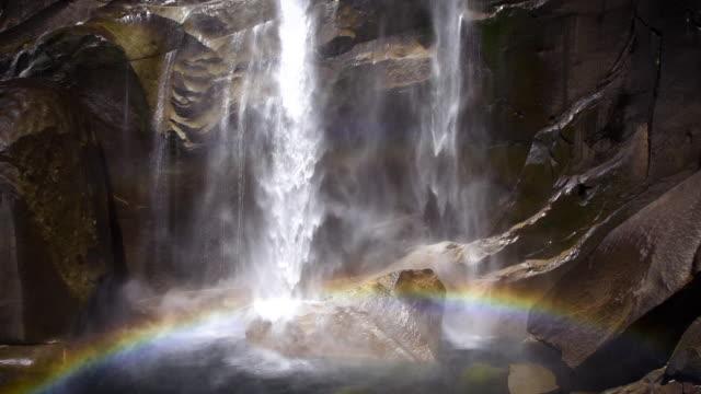 Yosemite Vernal Falls Slow Motion