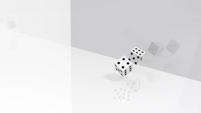 Dices Rolling video