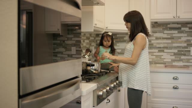 Step mom kitchen