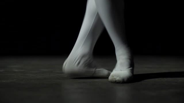 Young Ballerina Dancing video