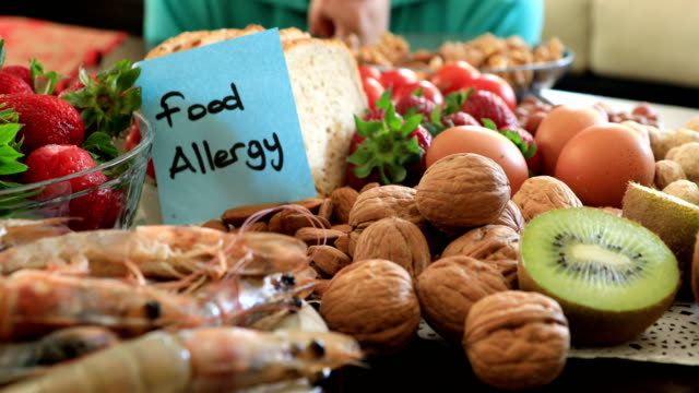 Young boy with food allergy video