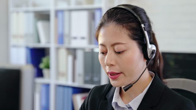 young business people walking in a call center - office cubicle stock videos & royalty-free footage