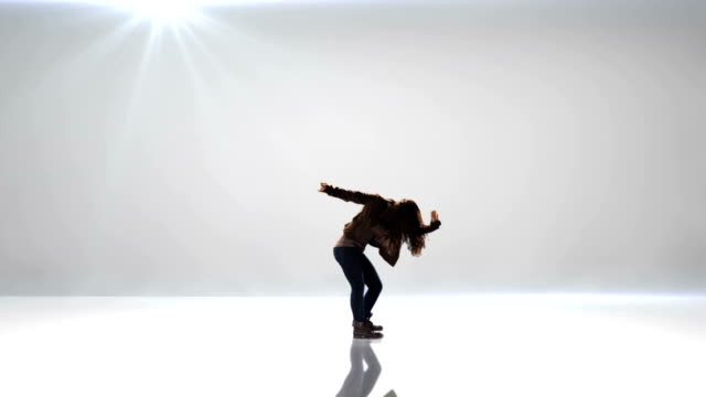 Young female dancer video