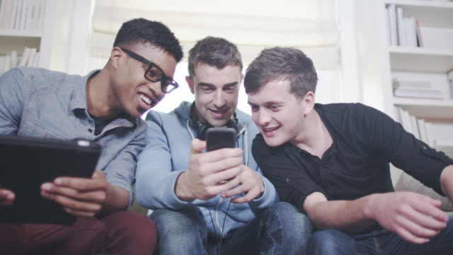 Young friends and technology video
