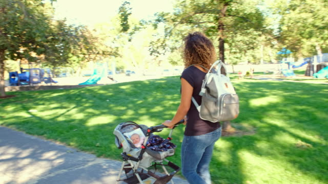 Young Mother in the Park video
