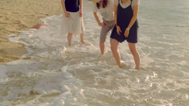 若い人々のビーチです。 - アジア旅行点の映像素材/bロール
