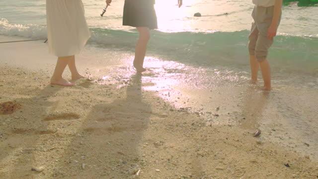 若い人々のビーチです。 - 旅人点の映像素材/bロール