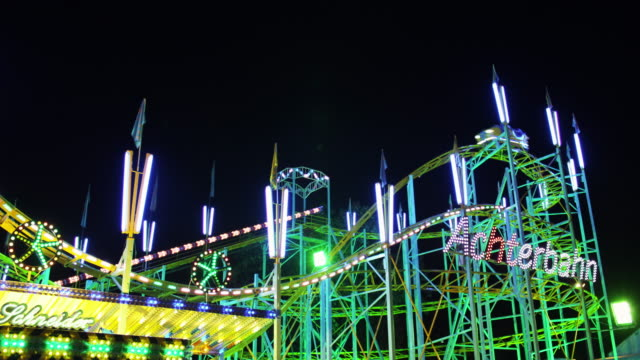 Young people on Rollercoaster video