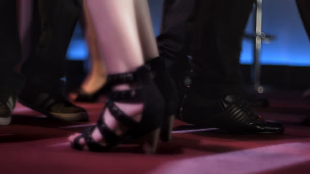 HD SLOW MOTION: Young People's Feet At Club video