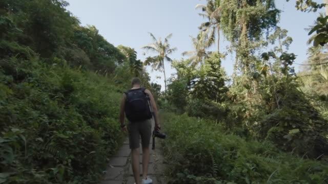 Young Photographer Exploring Bali